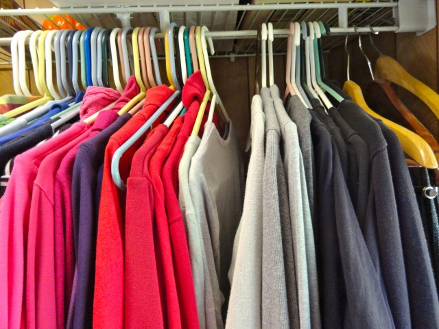 "<a href=""http://www.inmykitcheninmylife.com"" target=""_blank"">In My Kitchen, In My Life</a>'s best tip for keeping things under control: Know what you really wear! To find out, at the beginning of each new weather season turn all of your hangers ""backward"" on the closet rod. Each time you wear an item and hang it back up, you get to turn the rod back to the normal position. At the end of the season, notice the hangers that never got turned back. If you never wore it, why are you keeping it?"